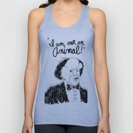 I am not an animal Unisex Tank Top
