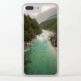 Wild Slovenia Clear iPhone Case