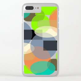 Abstract geometric background  #society6 #decor #buyart #artprint Clear iPhone Case