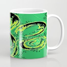 paw print_green Coffee Mug