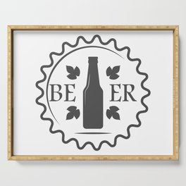 Beer style Fashion Modern Design Print! Serving Tray