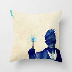 Doctor Who 10th Doctor David Tennant Throw Pillow