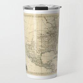 Old Map of North America (1783) Travel Mug