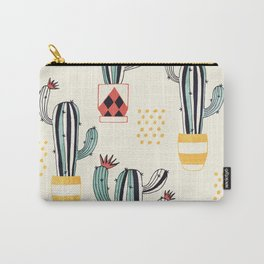 Cactus in a Pot Carry-All Pouch