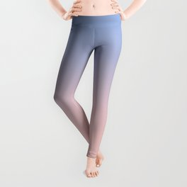 Pantone Rose Quartz and Serenity Ombre Leggings