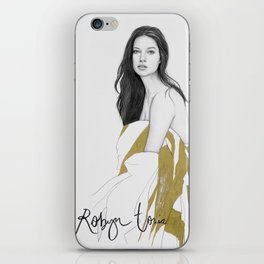 Adriana Lima iPhone Skin