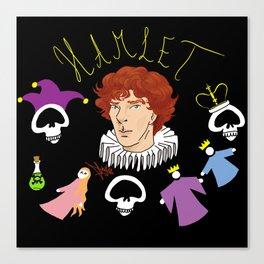 Hamlet - Prince of Denmark Canvas Print