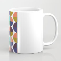 mod circles pattern Mug