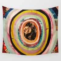 portal Wall Tapestries featuring Portal II  by Emily Kenney
