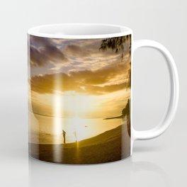 Beach Sunset- Cook Islands Coffee Mug