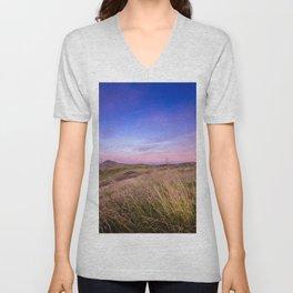 Lomond Sunset Sky Unisex V-Neck