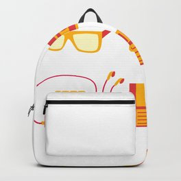 I Love the 80s - Bedroom Items - Sneakers Sunglasses Walkman Video Game Backpack