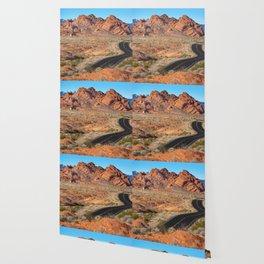 Valley of Fire Blacktop Wallpaper