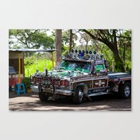 truck Canvas Prints featuring Truck by Rafael Andres Badell Grau