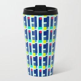 Broken Pin Strips Travel Mug