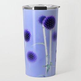Spheres Of Blue Travel Mug