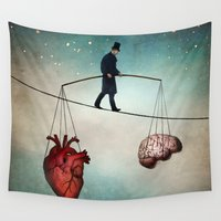 christian Wall Tapestries featuring The Balance by Christian Schloe