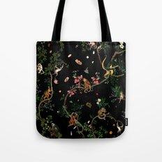 Monkey World Tote Bag