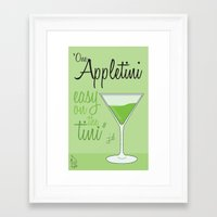scrubs Framed Art Prints featuring Tv drink quotes [ SCRUBS ] by Fabio Castro