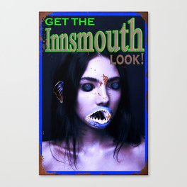 Get The Innsmouth Look Canvas Print