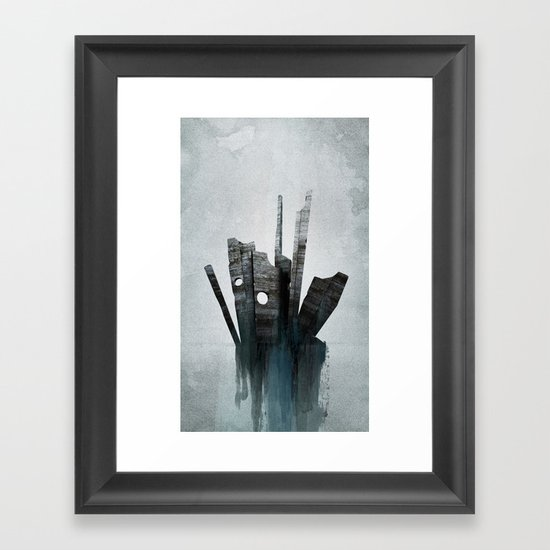 Pathfinder - Experimental Framed Art Print