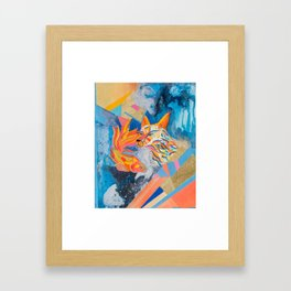 KoiWolf Framed Art Print