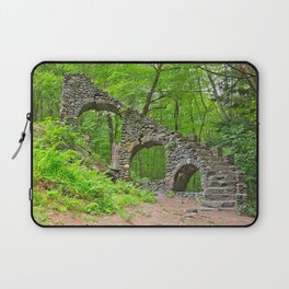 Forest Castle Ruins Laptop Sleeve