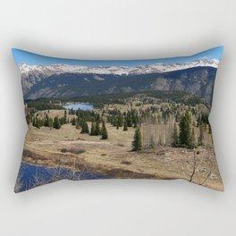 Molas Pass Impression At Million Dollar Highway Rectangular Pillow