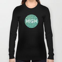 Cannabis / Hemp / 420 / Marijuana  - Pattern Long Sleeve T-shirt