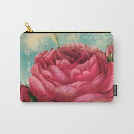 Vintage Flowers #16 Carry-All Pouch