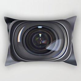 Photo lens front Rectangular Pillow