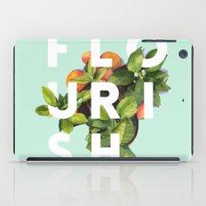 Flourish #society6 #buyart #typography #artprint iPad Case