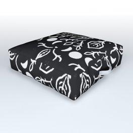 Magic Mandala Triple Moon Outdoor Floor Cushion