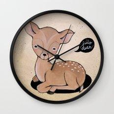 Hello Dear Wall Clock