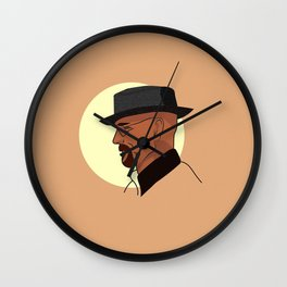 Heisenberg At Sunset Wall Clock