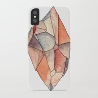 crystal iPhone & iPod Cases featuring Crystal  by Matt Smith