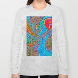Rainbow Drops Long Sleeve T-shirt