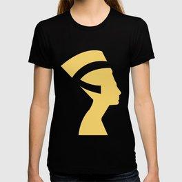 -BEQUEEN IN GOLD T-shirt