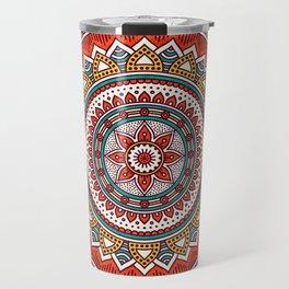 Hippie Mandala 6 Travel Mug