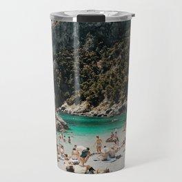 Sunbathers, Capri Travel Mug