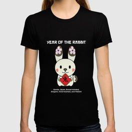 Rabbit Zodiac Sign T Shirt T-shirt