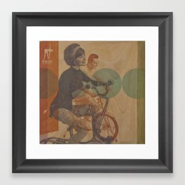 Stretch Before Every Workout Framed Art Print