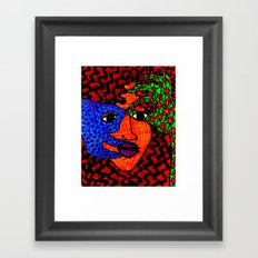 The String Theory Framed Art Print
