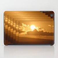 hawaiian iPad Cases featuring Hawaiian Sunrise by Katherine Farah