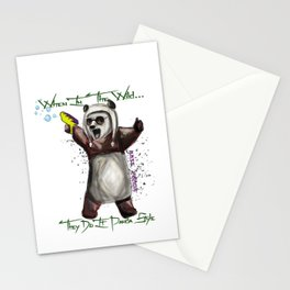 Panda Style Stationery Cards