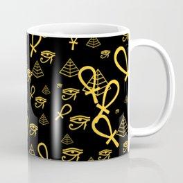 Kemetic Print Coffee Mug