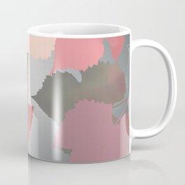 Metallic Autumn Leaves Coffee Mug