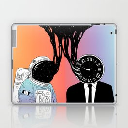A Portrait of Space and Time ( A Study of Existence) Laptop & iPad Skin