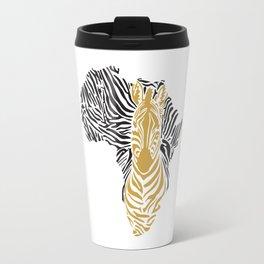 African Tribal Pattern No. 43 Travel Mug