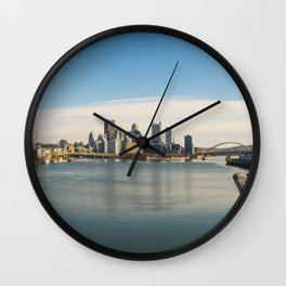 Pittsburgh from the West End Wall Clock